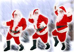 Les 1001 visages du Père Noël