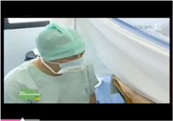 Vidéo : Un accouchement par césarienne en direct