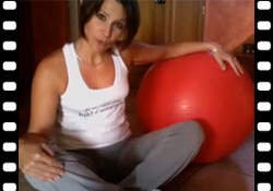 Vidéo : Se muscler avec le ballon de gymnastique