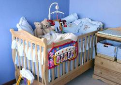 La chambre de bébé est-elle prête ?
