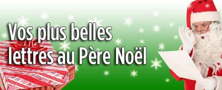 Vos plus belles lettres au Père Noël