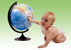 Vos premiers pas dans le monde de b�b�