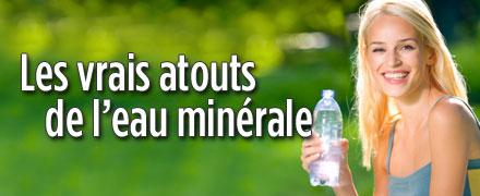 Les vrais atouts de l'eau minérale