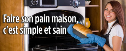 Faire son pain maison, c'est simple et sain !