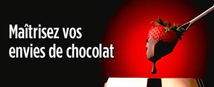 Maîtrisez vos envies de chocolat