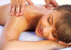massage, californien, suédois