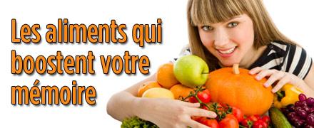 Les aliments qui boostent votre m�moire