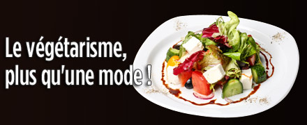 Le végétarisme, plus qu'une mode