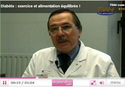 Vidéo : Diabète, exercice et équilibre alimentaire !