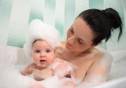 Le bain de bébé sans risques