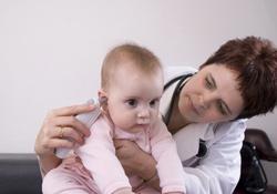 baisser la fièvre de bébé