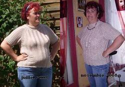 Photos avant/après : Les pertes de poids les plus incroyables !