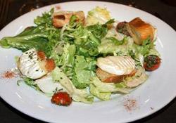 recettes de salade composee minceur