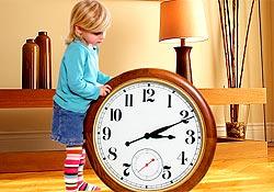 Comment lui apprendre � lire l'heure